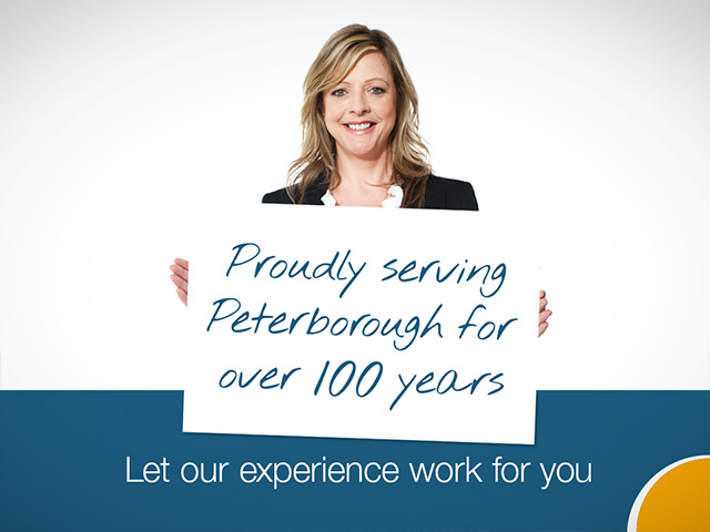 Proudly serving Peterborough for over 100 years
